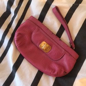 Juicy Couture Pink hand clutch